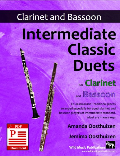 Intermediate Classic Duets for Clarinet and Bassoon Download