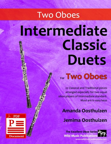 Intermediate Classic Duets for Two Oboes Download