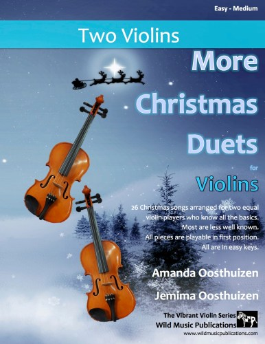 More Christmas Duets for Violins