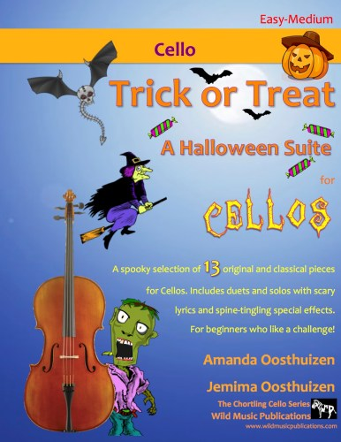 Trick or Treat - A Halloween Suite for Cellos