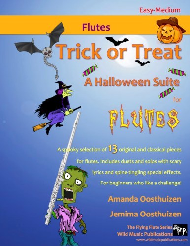 Trick or Treat - A Halloween Suite for Flutes