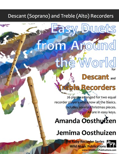Easy Duets from Around the World for Descant and Treble Recorders