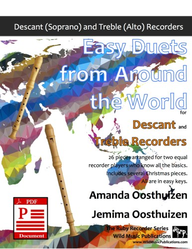 Easy Duets from Around the World for Descant and Treble Recorders Download
