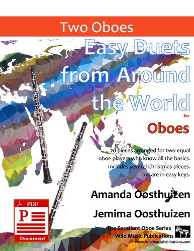 Easy Duets from Around the World for Oboes Download