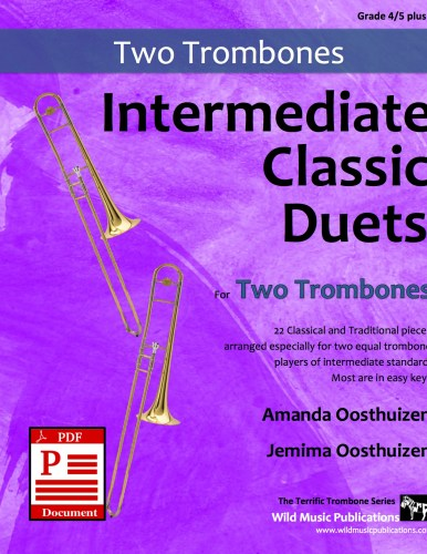 Intermediate Classic Duets for Two Trombones Download