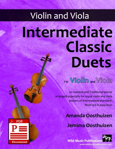 Intermediate Classic Duets for Violin and Viola Download