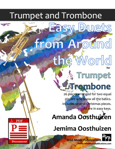 Easy Duets from Around the World for Trumpet and Trombone Download
