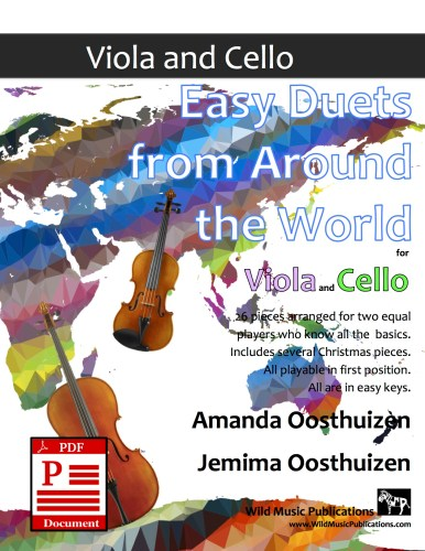 Easy Duets from Around the World for Viola and Cello Download