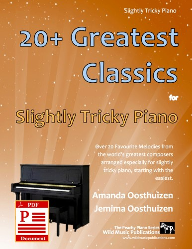 20+ Greatest Classics for Slightly Tricky Piano Download