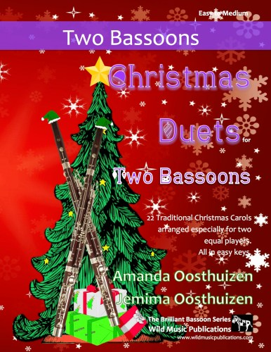 Christmas Duets for Two Bassoons