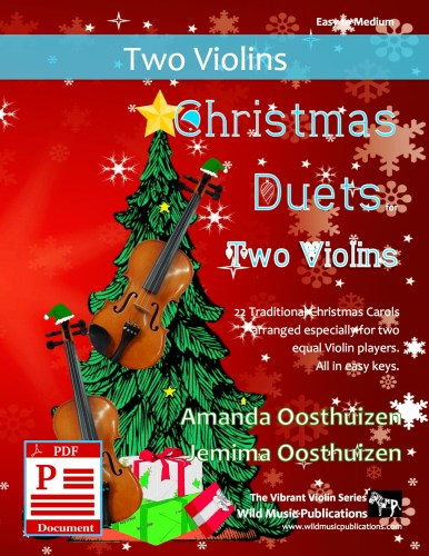 Christmas Duets for Two Violins Download