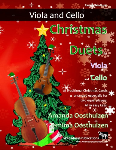 Christmas Duets for Viola and Cello