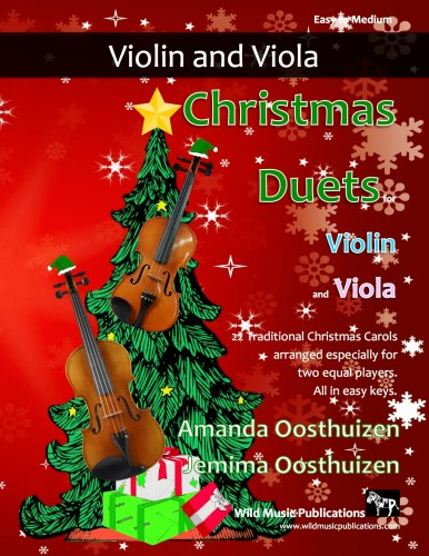 Christmas Duets for Violin and Viola
