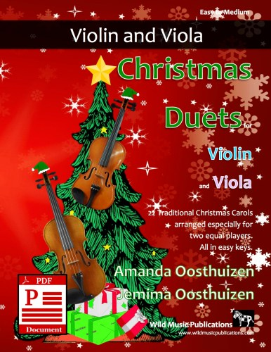 Christmas Duets for Violin and Viola Download