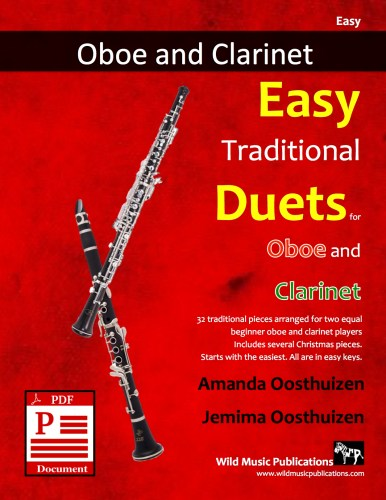 Easy Traditional Duets for Oboe and Clarinet Download