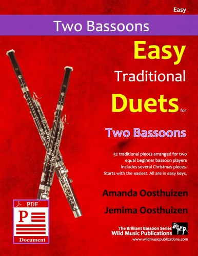 Easy Traditional Duets for Two Bassoons Download
