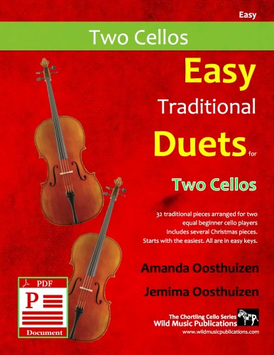 Easy Traditional Duets for Two Cellos Download