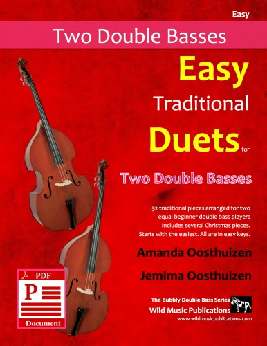 Easy Traditional Duets for Two Double Basses Download