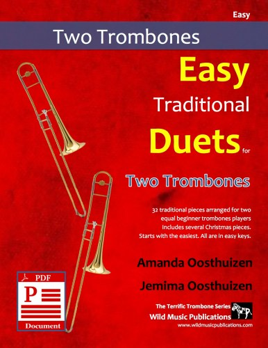 Easy Traditional Duets for Two Trombones Download