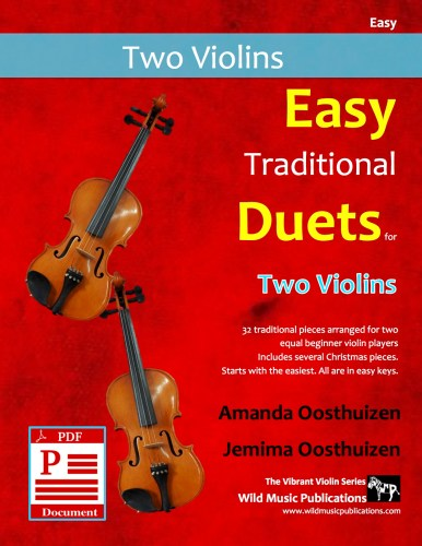 Easy Traditional Duets for Two Violins Download