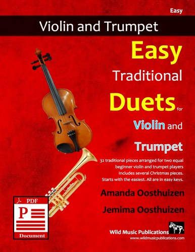 Easy Traditional Duets for Violin and Trumpet Download