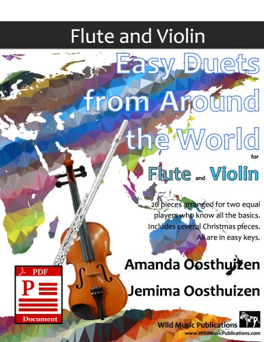 Easy Duets from Around the World for Flute and Violin Download