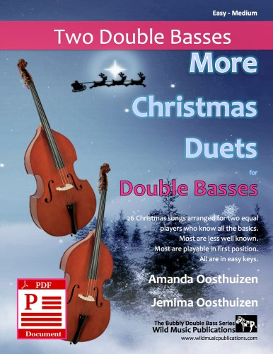 More Christmas Duets for Double Basses Download