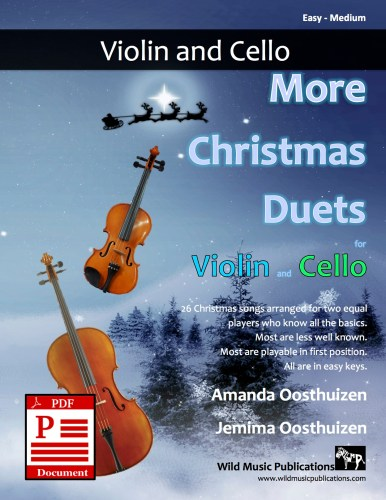 More Christmas Duets for Violin and Cello Download