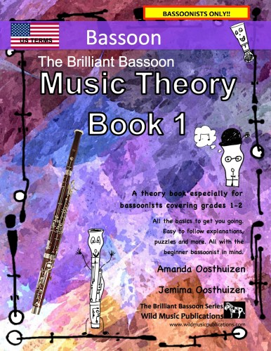 The Brilliant Bassoon Music Theory Book 1 - US Terms