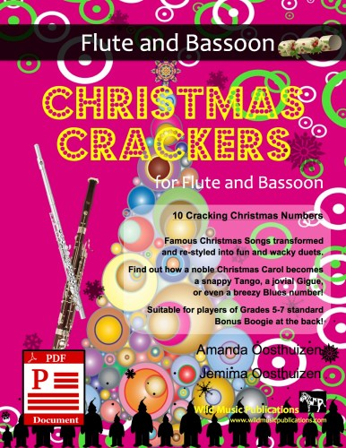 Christmas Crackers for Flute and Bassoon Download