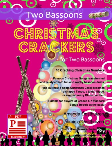 Christmas Crackers for Two Bassoons Download