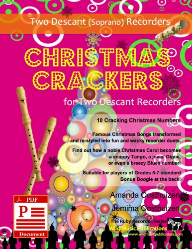 Christmas Crackers for Two Descant Recorders Download