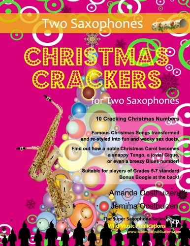Christmas Crackers for Two Saxophones