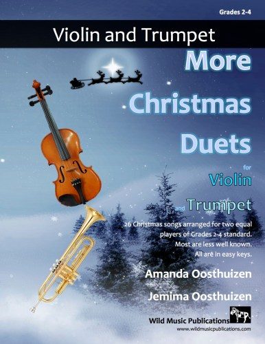 More Christmas Duets for Violin and Trumpet