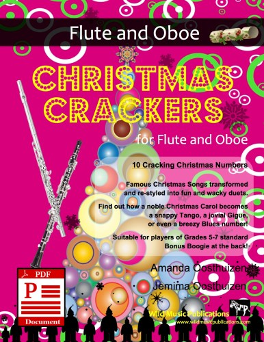 Christmas Crackers for Flute and Oboe Download