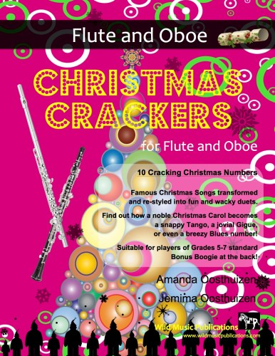 Christmas Crackers for Flute and Oboe
