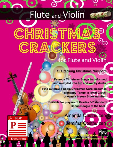 Christmas Crackers for Flute and Violin Download