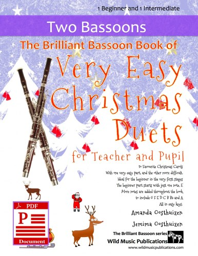 The Brilliant Bassoon Book of Very Easy Christmas Duets for Teacher and Pupil Download