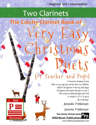 The Catchy Clarinet Book of Very Easy Christmas Duets for Teacher and Pupil Download