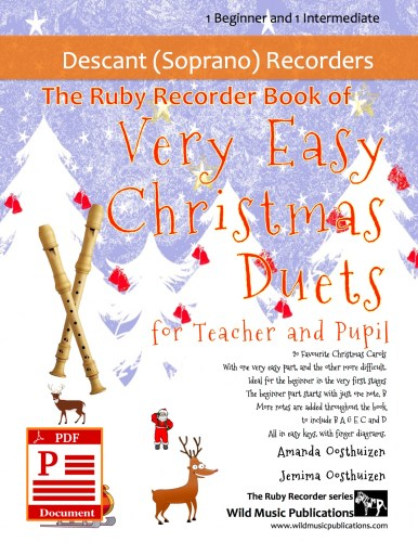 The Ruby Recorder Book of Very Easy Christmas Duets for Teacher and Pupil Download