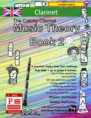 The Catchy Clarinet Music Theory Book 2 - UK Terms Download