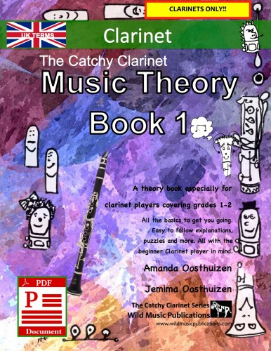 The Catchy Clarinet Music Theory Book 1 - UK Terms Download