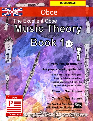 The Excellent Oboe Music Theory Book 1 - UK Terms Download