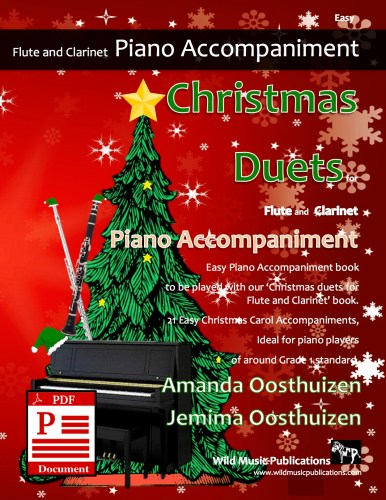 Christmas Duets for Flute and Clarinet Piano Accompaniment Download