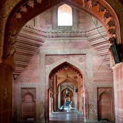 Inside View of Agra Fort