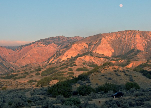 Ballinger Canyon Moonrise