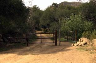 Sisar Road gate
