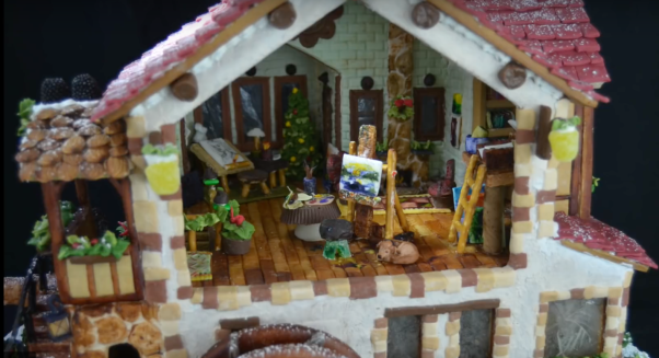 best gingerbread house