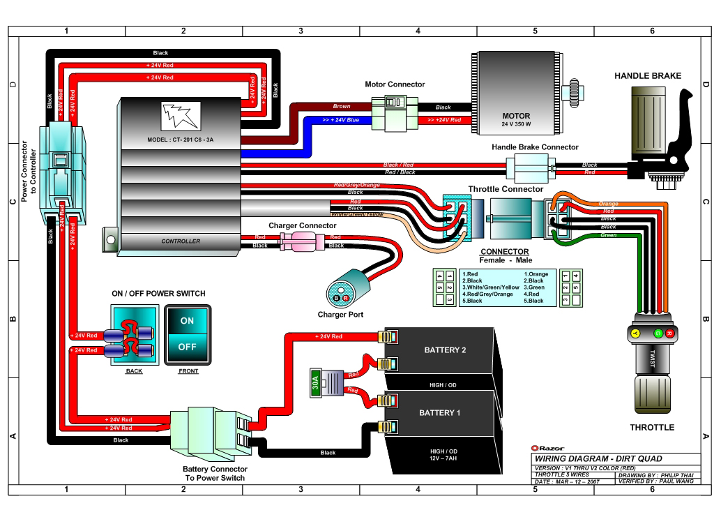 E90 Electric Scooter Parts Diagram circuit diagram template