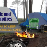 Keeping Toddlers Safe around Campfires: 4 Helpful Tips